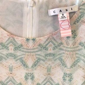 CAbi heart cami blouse